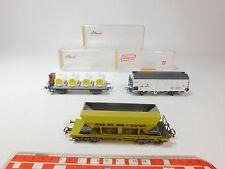 AQ817-1# 3x Liliput H0/DC Güterwagen: 205 10 ÖBB+246 Z SBB+221 60 DSB, OVP