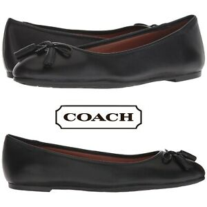 Coach-Bea-Women-039-s-Flats-Casual-Slip-On-Shoes-Walking-Moccasins-Leather-NIB