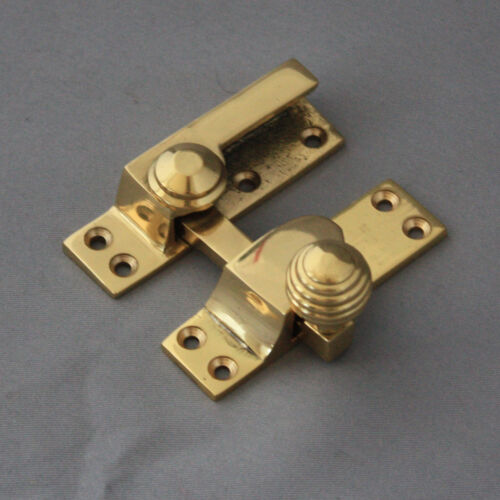 Brass Beehive Sash Window Fastener