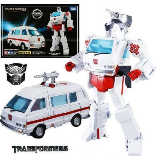 TAKARA TRANSFORMERS MASTERPIECE MP-30 RATCHET NISSAN CHERRY VANETTE FIGURE KO