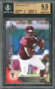 Michael-Vick-Rookie-Card-2000-Leaf-Rookies-Stars-301-BGS-9-5-9-5-9-5-9-5-9-5