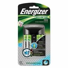 Energizer Pro Charger with 4 AA Rechargeable Batteries for AA/AAA CHPROWB4