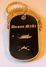 M1A1 Abrams Tank Iraq War Army USMC General Cavalry Battle Dog Tag  Lighter Case