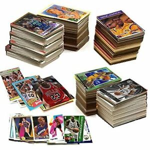 HUGE-LOT-600-NBA-Basketball-Cards-in-a-Gift-Box-w-1-Sealed-Pack-amp-Jordan-Card