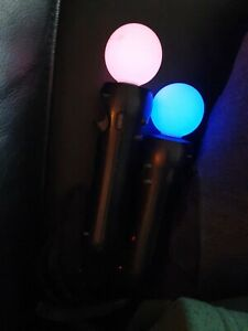 2 Manettes PS Move Playstation VR Sony PS4 PS3  BIEN LIRE  L'ANNONCE
