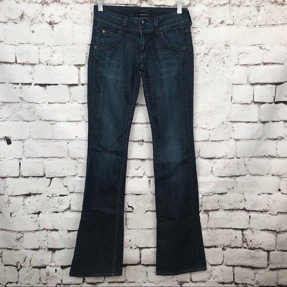 Hudson Jeans Signature Bootcut Jeans Dark Wash Size 25