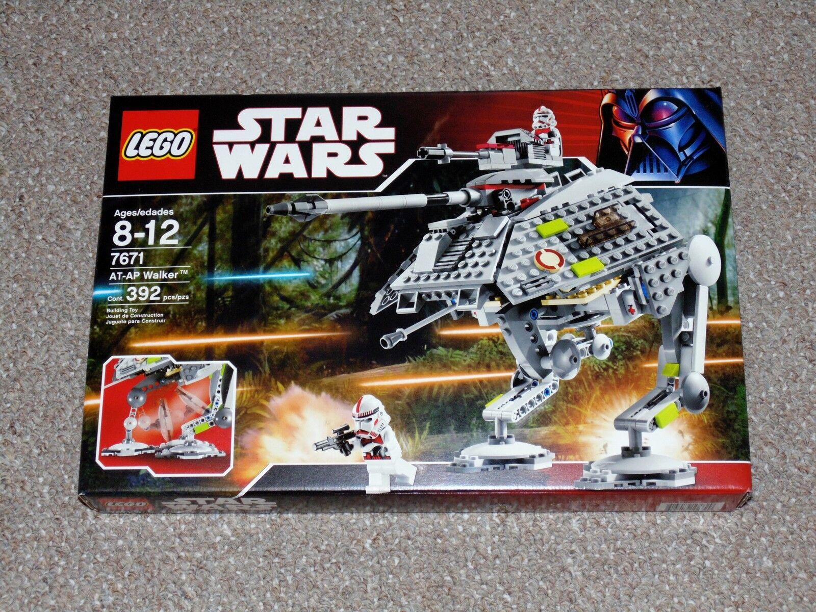 LEGO stjärnornas krig AT -AP promänader Brand Ny MIB Sällsynt Pensionerad Set 7671