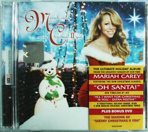 MARIAH CAREY Merry Christmas II You MALAYSIA Deluxe CD + DVD NEW FREE SHIPMENT