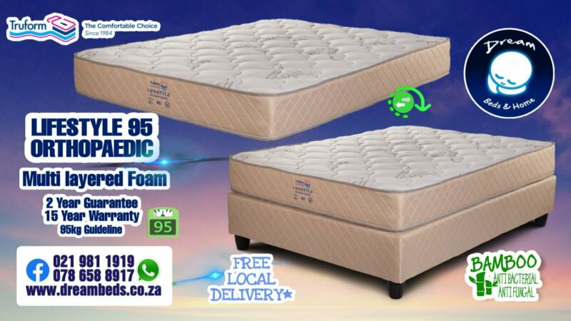 Lifestyle Orthopaedic for sale - Foam Only - Beds and Mattresses with FREE DELIVERY