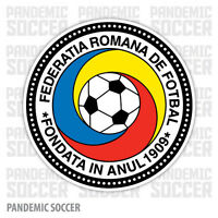 Romania National Team Soccer Vinyl Sticker Decal Football UEFA Color Die Cut