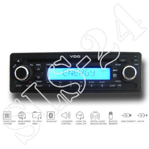 VDO CDD728UB–BU 24 Volt 24V CD MP3 USB Bluetooth FM RDS DAB Tuner LKW BUS Radio
