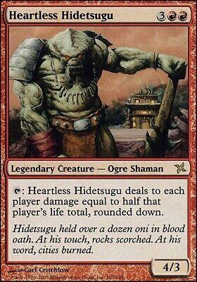 English Magic MTG Heartless Hidetsugu Betrayers of Kamigawa *NM*