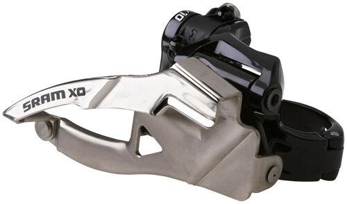 Sram Abrazadera X0 2x10 Velocidad 38.2mm MTB Frontal Descarrilador bajo Abrazadera Sram Xo 8dc073