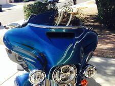 """Harley 6"""" Windshield Dark Tint - / Street Glide / Tri-Glide / 2014 - 17"""