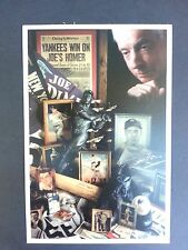 Joe DiMaggio Limited Edition postcard by David M Spindel authentic promo