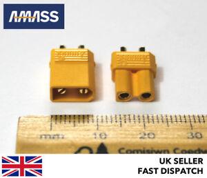 Véritable Amass Xt30u Mâle Et Femelle Connecteurs/fiches/douille 12v 24v Rc Ehxz6qd9-07155856-205954415