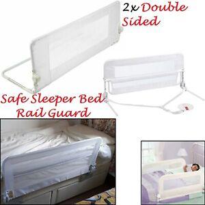 Cama-doble-cara-2x-safetots-Childs-carril-carril-lateral-de-Cama-Protector-de-la-cama-del-nino
