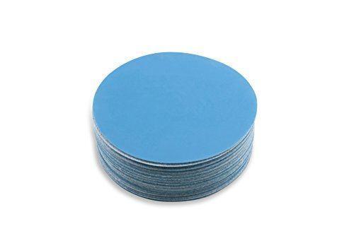 5 Inch 2000 Grit Hook and Loop Metal Sharpening Polishing Film Sanding Discs,
