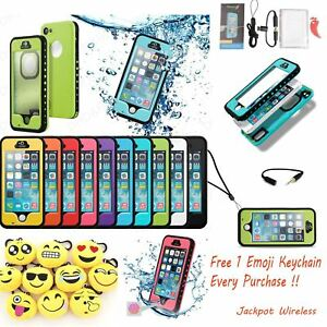 Waterproof-ShockProof-Touch-ID-Fingerprint-Scanner-Case-Cover-for-iPhone-5-5S-SE