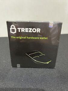 Trezor Hardware Bitcoin Ethereum Wallet 120mhz 128 X 64 Black