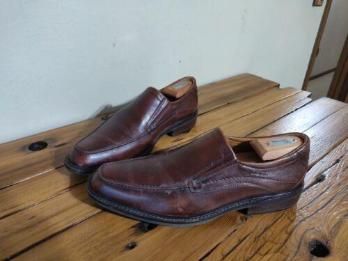 scarpe marrone casual scamosciata con scarpe Ecco pelle vera 44 Uomo antiscivolo in qYx1dZC