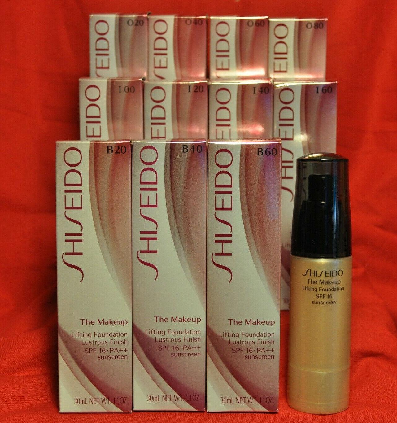 Shiseido Makeup Spf 15 Refining Foundation O40 Natural Fair Ochre Primer For Sale Online Ebay