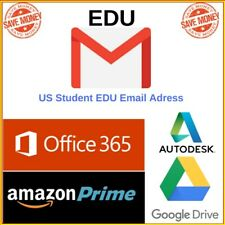 EDU Email Unlimited Google Drive 6 Months Amazon Prime for