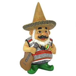 Amazing Image Is Loading Mexican Garden Gnome Wearing Sombrero Folk Art Statue