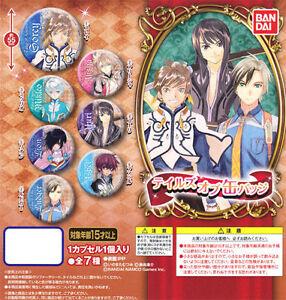 Bandai Tales of Series TOS Can Badge