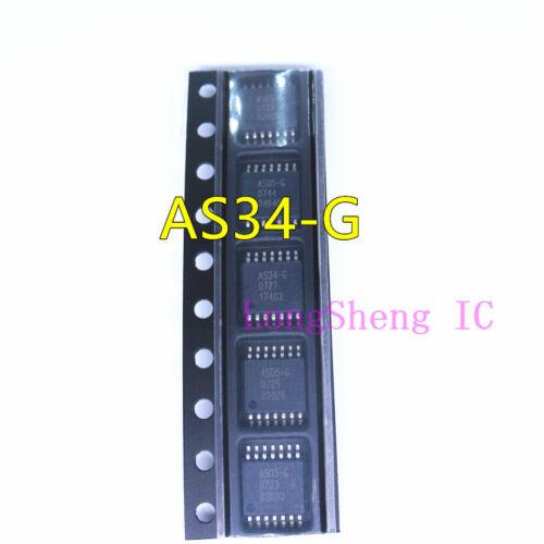 14 ORIGINAL NEUF Circuit intégré Neuf 10PCS AS34-G TSSOP