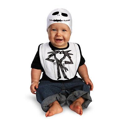 Jack Skellington Bib & Hat Nightmare Before Christmas Infant Costume 58886