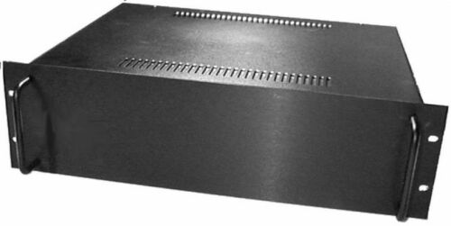 "ET3//35B 3U 19/"" Rack Mount Cabinet Equipment Enclosure 19 x 5.25 x 13.78 inches"