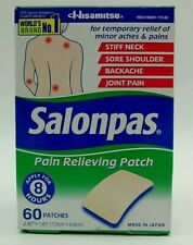 Salonpas Pain Relieving Patches 60 Count