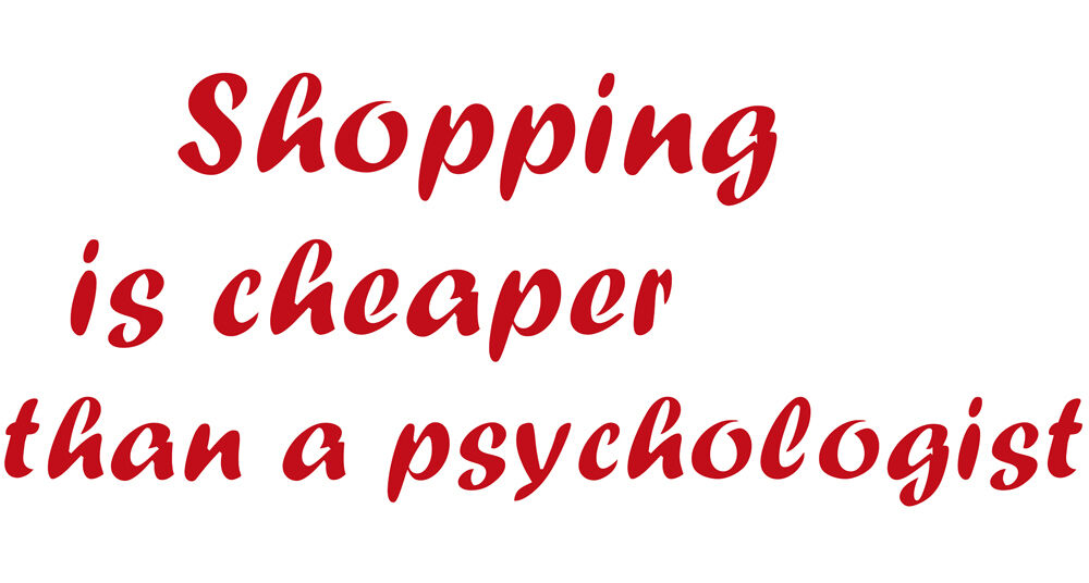 Lettrage Shopping Is moins Cher que A Psychologist WD0820 Rouge