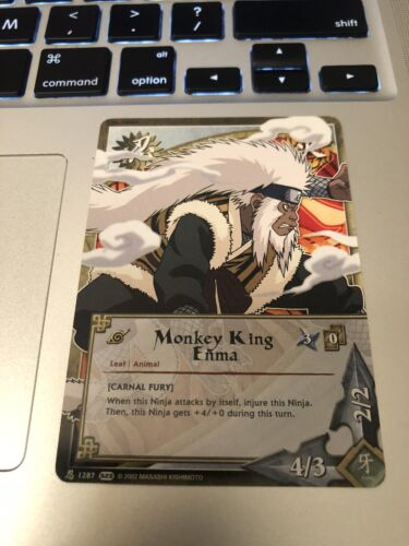 Naruto Cards CCG TCG Monkey King Enma 1287 COMMON COMBINE SHIPPING