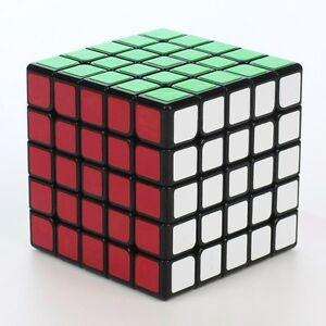 Yuxin Kylin 5x5x5 Speed Contest Magic Cube Twist Puzzle Black IQ Game Fancy Toys