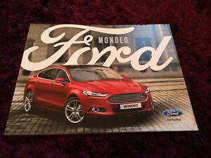 Ford Mondeo St 2017 >> Details About Ford Mondeo Brochure 2018 Inc Zetec St Line Titanium Dec 2017 Uk Issue