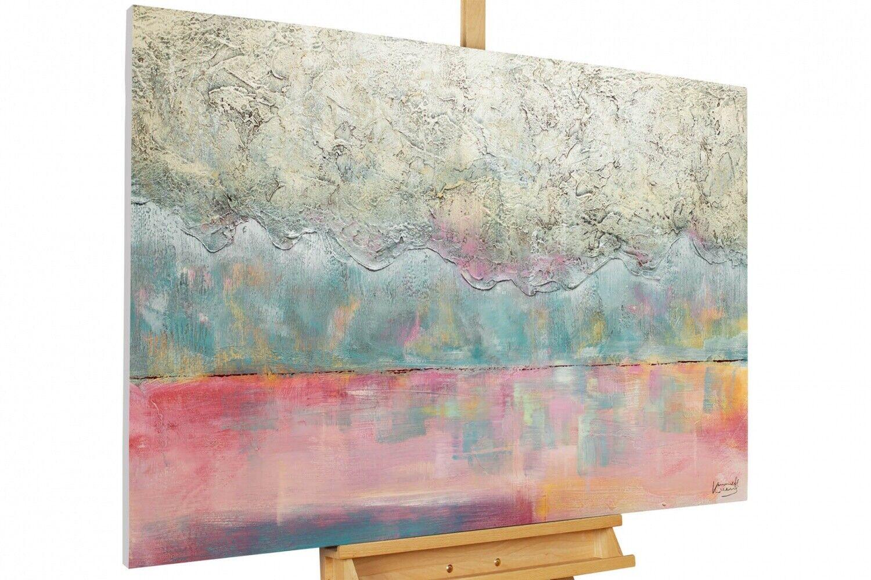 Acryl Gemälde 'GEDANKEN SIND FREI'   HANDGEMALT   Leinwand Bilder 120x80cm