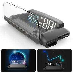"5.5"" G3 GPS Head-up Display HUD Projector Speedometer Overspeed Warning Detector"