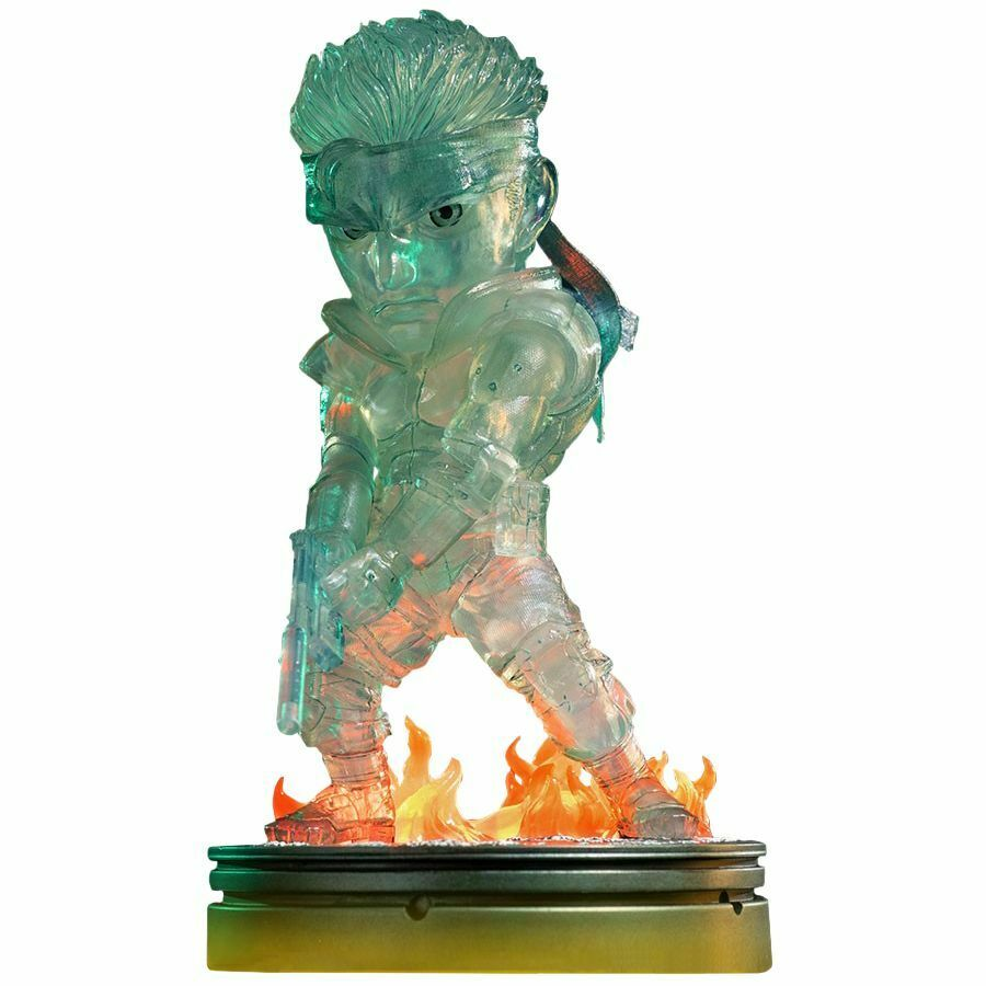 Metal Gear Solid - Solid Snake Stealth Camouflage 8  PVC Statue