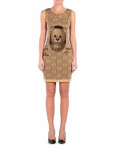 Image Is Loading 725 Moschino Couture Jeremy Scott Teddy Bear Gold