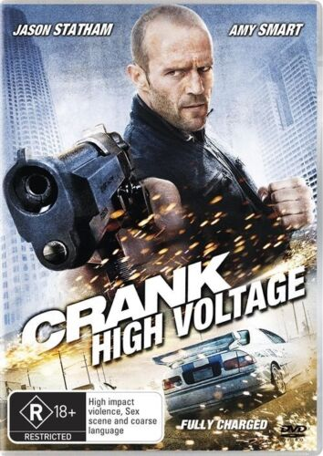 1 of 1 - Crank - High Voltage - DVD LIKE NEW FREE POSTAGE AUSTRALIA WIDE REGION 4
