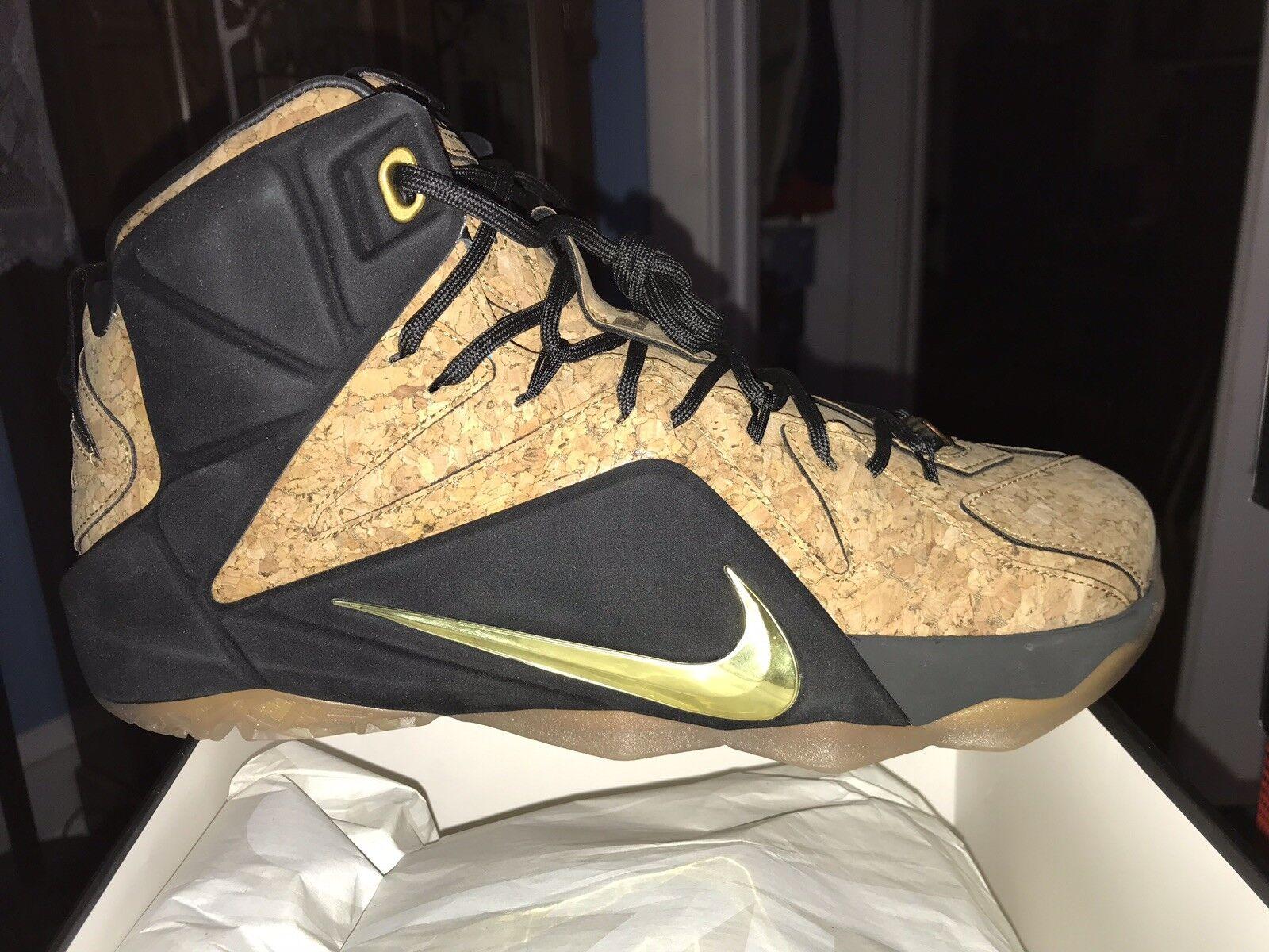 Lebron 12 Cork Premium Sz 10 Nike