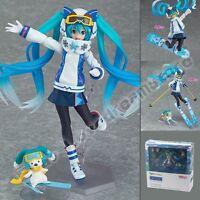 "Vocal Series 01 : Hatsune Miku Snow Owl Ver. 14cm/5.6"" Pvc Figure In Box EX-030"
