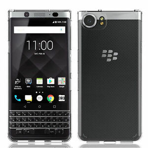 Fuer-BlackBerry-Keyone-Handy-Huelle-Case-Silikon-TPU-Klar-Tasche-Schutz-Cover-Etui