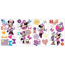 MINNIE MOUSE Bow-Tique 33 Wall Stickers Bowtique Room Decor Decals Decorations