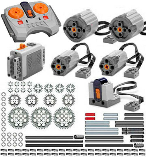 Lego Power Functions PRO-S  (technic,motor,gear,pin,axle,remote,receiver,car)