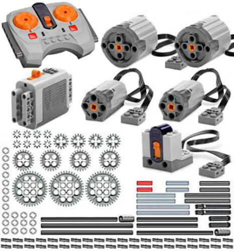 technic,motor,gear,pin,axle,remote,receiver,car Lego Power Functions PRO-S