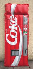 Original COKE COCA COLA Luftmatratze Getränkeautomat Reklame Sammlerstück selten