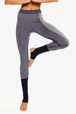 STELLA McCARTNEY Adidas YOGA SEAMLESS Tights Noble Ink/White (AZ6937) MEDIUM